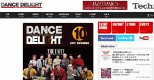 DANCE DELIGHT WEB SITE